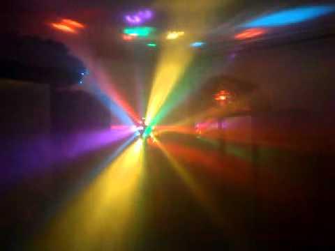 mein disco licht eurolite z 20 youtube. Black Bedroom Furniture Sets. Home Design Ideas