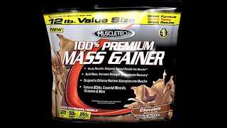 Review of muscle tech mass gainer