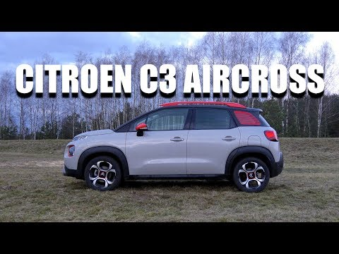 Citroen C3 Aircross - is quirky the new black? (ENG) - Test Drive and Review