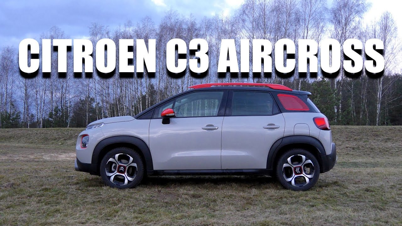 citroen c3 aircross is quirky the new black eng test drive and review youtube. Black Bedroom Furniture Sets. Home Design Ideas