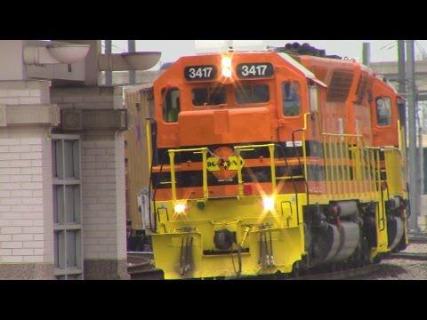 Railfaning Dallas Union Station, TRE, and Dart 7-9-15