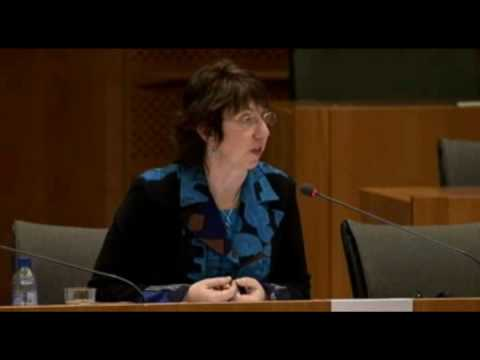 Anhörung Baroness Catherine Ashton