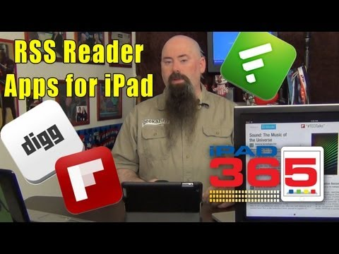 Which iPad RSS Reader to Use: Digg, Flipboard, Feedly, Fark