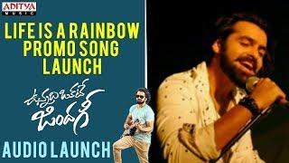 Video Life Is A Rainbow Promo Song Launch || Vunnadhi Okate Zindagi | Ram, Anupama, Lavanya, DSP download MP3, 3GP, MP4, WEBM, AVI, FLV Oktober 2017