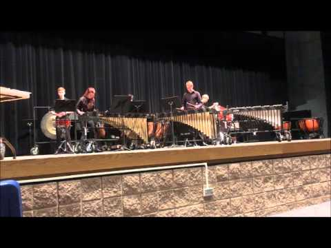 Warsaw Community High School Percussion Ensemble - Gainsborough mm1