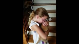 Surprising my daughter with a puppy