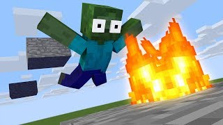 Monster School : PARKOUR SIMULATOR GAME CHALLENGE - Minecraft Animation