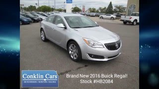 New 2016 Buick Regal | Wichita KS Area | Conklin Cars Hutchinson Buick Dealership