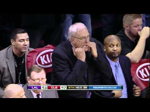 Fisher Commits Foul, Kobe Gets Angry