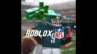 500 ROBUX PACK ON ROBLOX NFL 2!!!