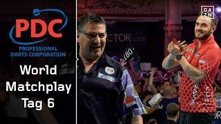9-Darter von Gary Anderson im Viertelfinale gegen Joe Cullen | World Matchplay 2018 | Tag 6 | PDC