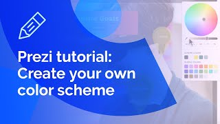 Prezi tutorial: How to create your own color scheme