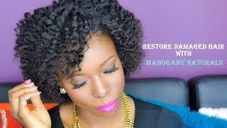 Flat Twistout on Natural Hair (4B4C Hair)