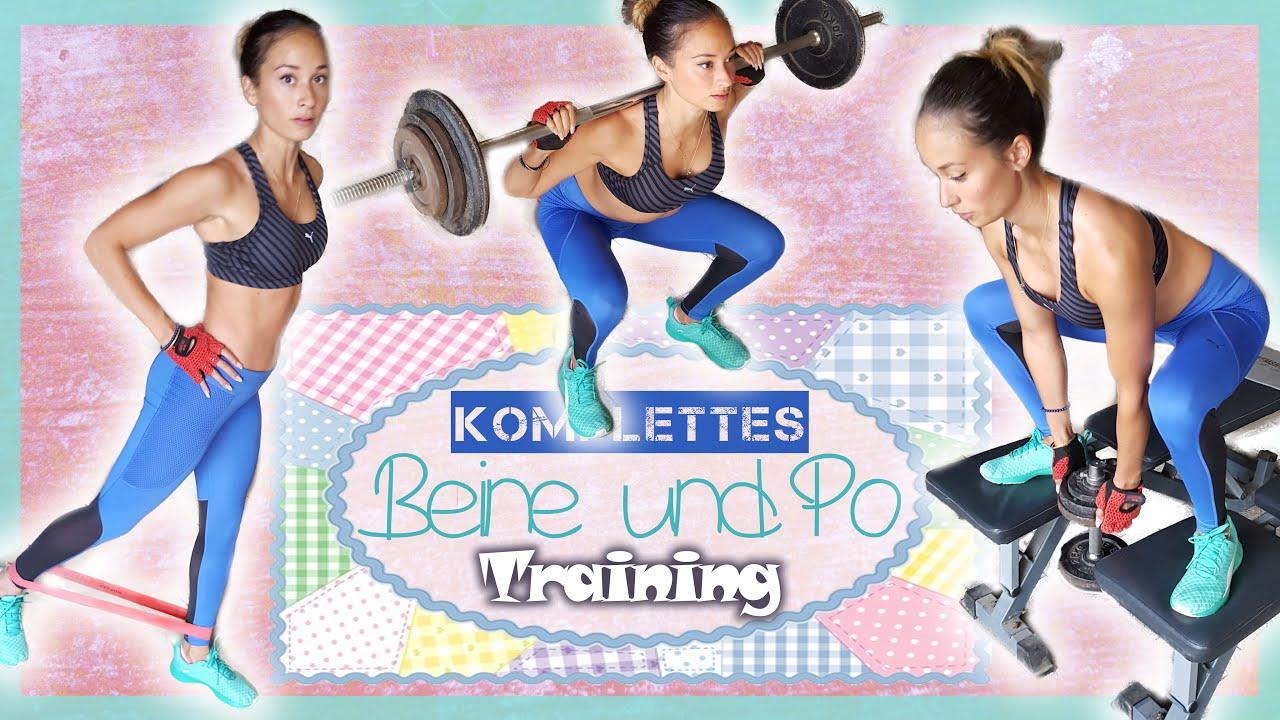 Beine Po Training Neue übungen Für Schöne Oberschenkel