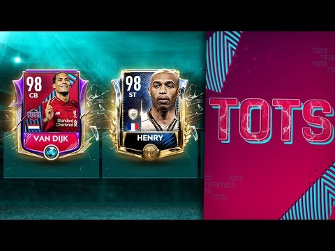 Thierry Henry 98+ OVR Prime Icon в НАБОРАХ TOTS EPL! НОВОЕ СОБЫТИЕ FIFA MOBILE 19