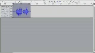 Repeat youtube video Audacity: Radio sound effect