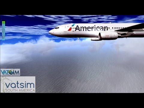 [VATSIM] | iFLY B737 |  FS2004 | SPJC - Arrival | [720p/HD]