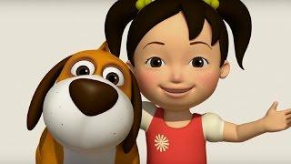 Английский язык для малышей - Мяу-Мяу - сборник серий - 21 - 26 серии - учим английский