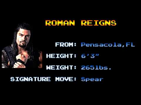Arcade Wrestling Themes - Roman Reigns - The Truth Reigns (CPS2)