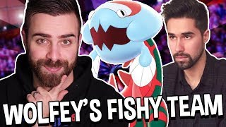 Wolfey Gave Me FISHY POKEMON! Pokemon Sword and Shield Wifi Battles VGC