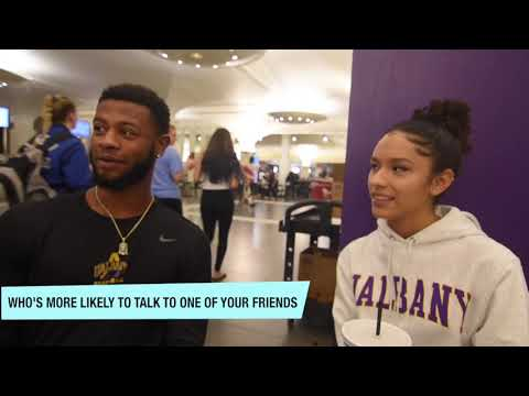 Who's Most Likely To Men Or Women? | UAlbany Public Interview