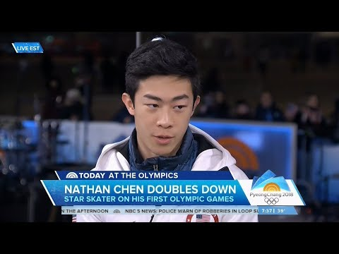 Nathan Chen Today Show Olympic Interview | LIVE 2-19-18