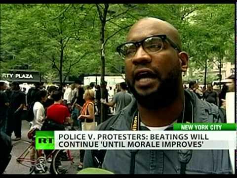 Occupy Wall Street: Police brutality, media blackout