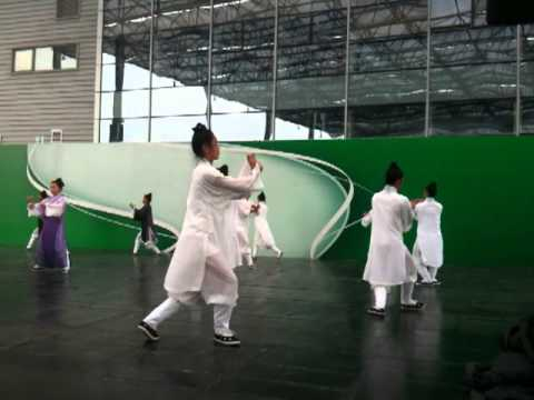 Taoism show in Shanghai World Expo 2010 in China