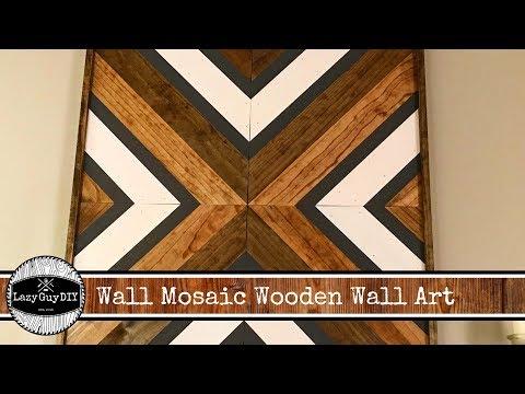 Lazy Guy DIY: Nolan Wood Mosaic