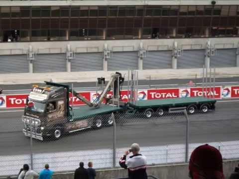 Le mans - camions 2011
