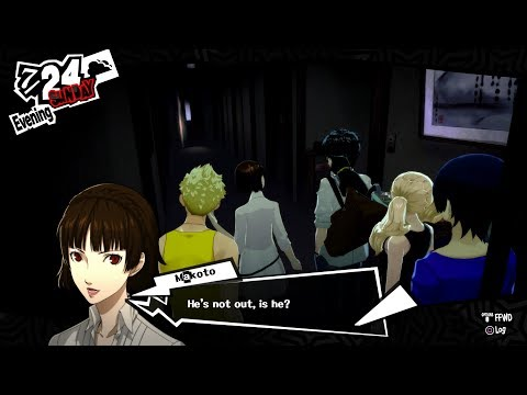 Persona 5 Sneaking Into Sojiro House To Meet Futaba! Hq