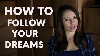 1. How to Follow Your Dreams. | Moosh Walks Journey with Olga Kay