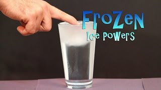 Repeat youtube video Frozen Activities for Ice Powers Just Like Elsa the Snow Queen