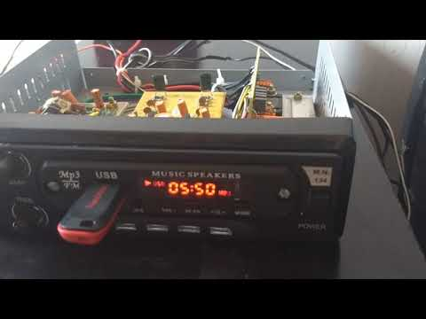 Car amplifier for subwoofer and stereo 2.1