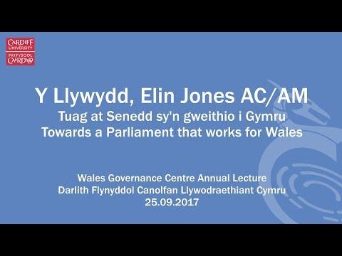 Tuag at Senedd sy'n gweithio i Gymru / Towards a Parliament that works for Wales