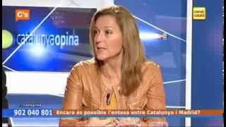 C's - Carina Mejías en 'Catalunya Opina' de Canal Català Tv 29/10/2013