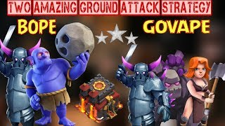 TH10 || BOWLER+PEKKA and GOVAPE 3 STAR War Attack Guide Ground Attack Strategy by Rock Videos