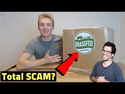Tai Lopez Grass Fed Brands REVIEW + UNBOXING (Subscription Business Model)