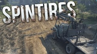 SPINTIRES - First Impression - Steam Release Version (Spin Tires Gameplay Full Release)