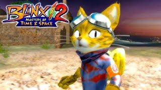 Blinx 2: Masters of Time and Space - Gameplay Xbox (Release Date 2004)