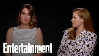 Amy Adams, Gillian Flynn On Mother-Daughter Relationships, On And Off Screen | Entertainment Weekly