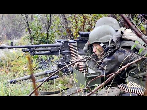 FN MAG Machine Gun Live-fire