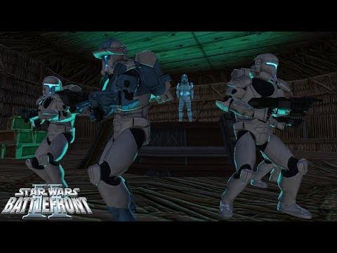 Star Wars Battlefront 2 Mod | Kashyyyk Depot