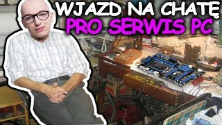 Wjazd na chatę: PC SERWIS | PC Building Simulator #3