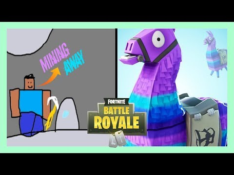I Met the MINING AWAY Kid in Playground Mode   Funny Fortnite Gameplay