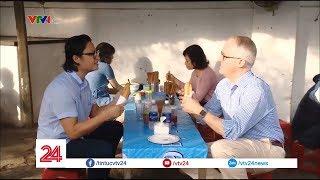 tin tức VTV24 Bữa sáng đặc biệt của Thủ tướng Australia   VTV24