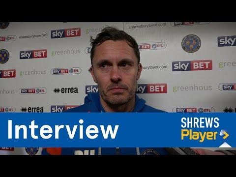 INTERVIEW | Paul Hurst post Charlton Athletic (H) - Town TV