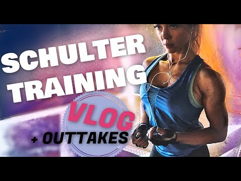 Ich bekomme NEUE MOTIVATION 💥 Schulter Workout & Booster  💪+ OUTTAKES 😂 Sunny Fitness VLOG Berlin