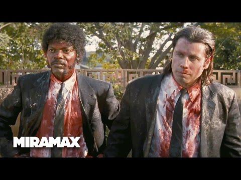 Pulp Fiction   'Dorks' (HD) - John Travolta, Samuel L. Jackson   MIRAMAX