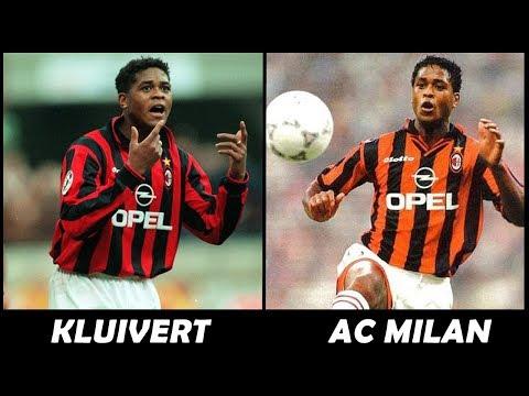 Patrick Kluivert Al AC MILAN - Los Peores Fichajes Del Fútbol 10